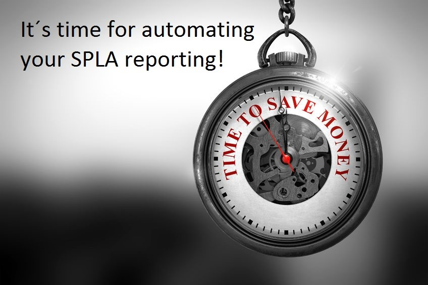 Automation of processes saves time and resources - LicenseWatch SPLA